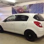 Voorbeeld geblindeerde ruiten Opel Corsa 5-deurs