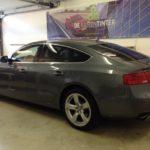 Voorbeeld geblindeerde ruiten Audi A5 sportback