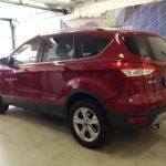 Voorbeeld geblindeerde ruiten Ford Kuga