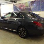 Voorbeeld geblindeerde ruiten Mercedes c-klasse sedan