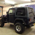 Voorbeeld geblindeerde ruiten Jeep Wrangler