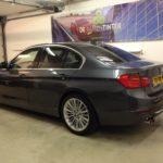 Voorbeeld geblindeerde ruiten BMW 3-serie sedan