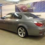 Voorbeeld geblindeerde ruiten BMW 5-serie sedan