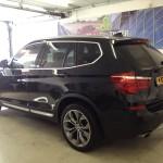 Voorbeeld geblindeerde ruiten BMW X5 nieuw model