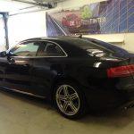 Voorbeeld geblindeerde ruiten Audi A5 coupe