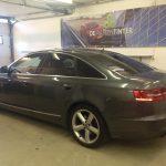 Voorbeeld geblindeerde ruiten Audi A6 Sedan