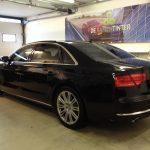 Voorbeeld geblindeerde ruiten Audi A8