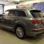 Voorbeeld geblindeerde ruiten Audi Q7
