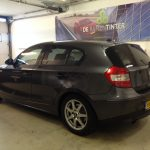 Voorbeeld geblindeerde ruiten BMW 1 serie