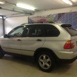 Voorbeeld geblindeerde ruiten BMW X5