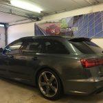 Voorbeeld geblindeerde ruiten Audi A6 Avant 2015