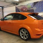 Voorbeeld geblindeerde ruiten Ford Focus st