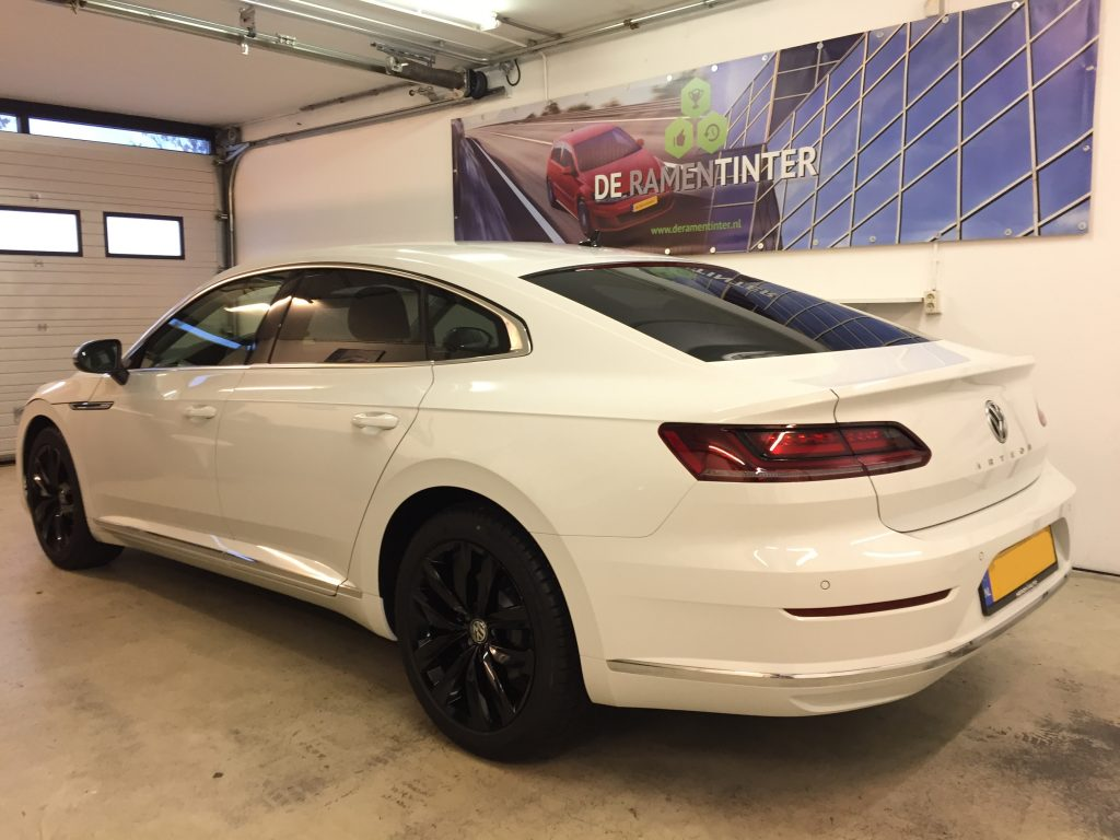 vw arteon blinderen